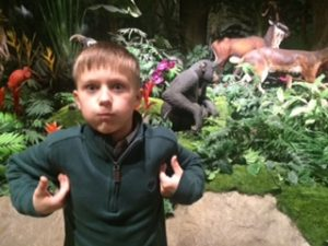 Jonas at Creation Museum